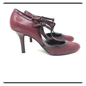 IMPO Ladies Merlot Heels 9.5